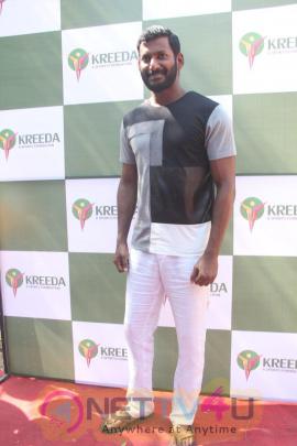 Actor Vishal & Murali Vijay Launch Of Kreeda A Sports Foundation Photos  Tamil Gallery