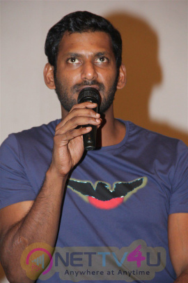 Actor Vishal & Producer Ke Gnanavel Raja Press Meet Exclusive Photos Tamil Gallery