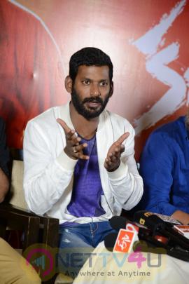 actor vishal kathakali telugu movie teaser launch photos