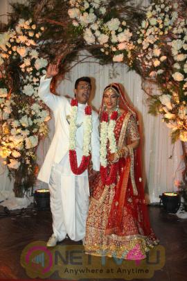 Actress Bipasha Basu And Karan Singh Grover Wedding & Reception Stills