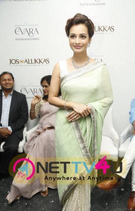 actress dia mirza at platinum evara launch photos