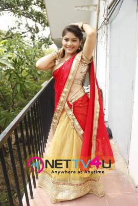 actress haritha at sri k creations movie launch stills