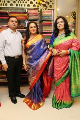 Actress Jayaprada & Designer Amrita Mishra At The Exclusive Launch Of TRISHA Designer Wear Gorgeous Stills