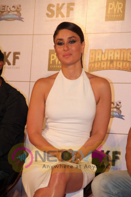 actress kareena kapoor photos at bajrangi bhaijaan trailer launch