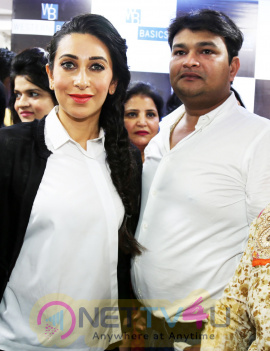 Actress Karisma Kapoor Inaugurated 'Western Basics' Kids Wear Store Event Photos Hindi Gallery