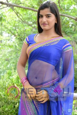 Actress Keerthana Podhval At Rudra IPS Movie Launch Stills