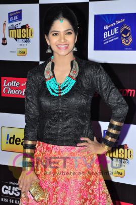 actress madhumitha at mirchi music awards 2014 red carpet stills 11