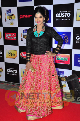 actress madhumitha at mirchi music awards 2014 red carpet stills 24