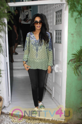 Actress Mallika Sherawat Spotted In Bandra Images