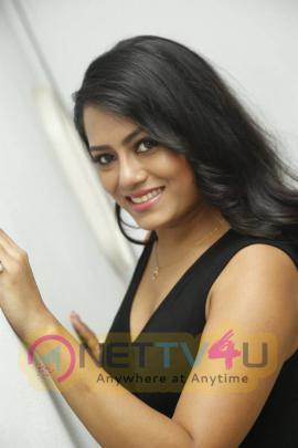 actress mousumi stills at pramadam movie trailer launch