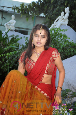 Actress Radhe Krishna Latest Half Saree Stills