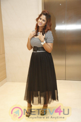 actress shilpa chakravarthy at siima awards 2015 press meet stills