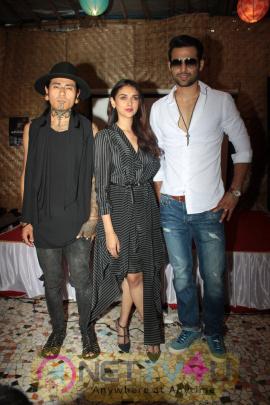 Aditi Rao Hydari & Bejoy Nambiar At Music Video Launch Stills