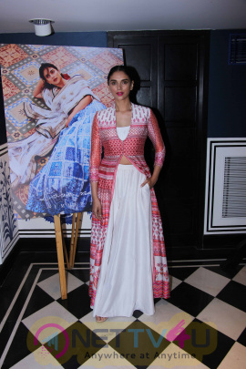 Aditi Rao Hydari Launches Anita Dongre's New Campaign Love Notes Stills