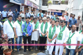 adopt tree challenge program attended by rajendra prasad stills