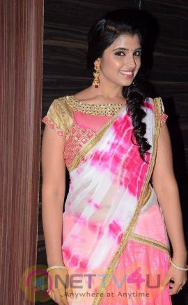 anchor shyamala stills at jyothi lakshmi movie audio launch