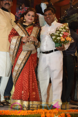 Bandaru Dattatreya Daughter Marriage Attractive Photos Telugu Gallery