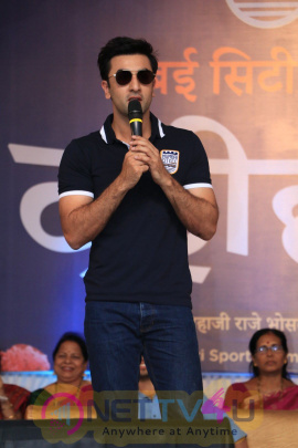 Breaking Of Dahi Handi By Ranbir Kapoor On The Behalf Of Mumbai City Football Club Photos Hindi Gallery