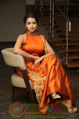 Bavya Sri Beauteous Stills At Nenu Seethadevi Audio Launch Telugu Gallery