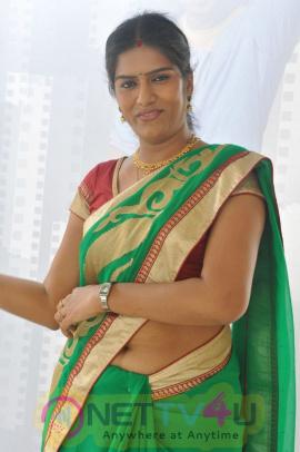 bhavana telugu serial actress latest photos in saree