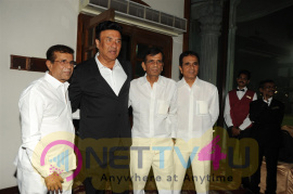 Bolly Celebs At Anu Maliks Felicitation Party By Anirudh Dhoot Stills Hindi Gallery