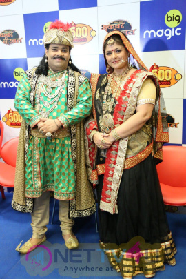 Celebrate The Successful Completion Of 500 Episodes Of Akbar Birbal Photos
