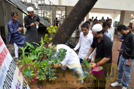Celebrate Van Mahotsav Week Tree Plantation Drive With Ajaz Khan & Asif Bhamla Photos Hindi Gallery