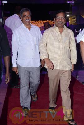 Celebs At Producer DVV Danayya Daughter Wedding Reception Stills Telugu Gallery