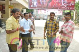 Chuttalabbayi Team At Sri Mayuri Theater Stills Telugu Gallery
