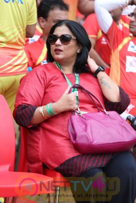 CCL 2016 Chennai Vs Telugu Match Images