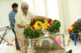 celebrities paid homage to satyamurthy photos  28music director dsp father 29