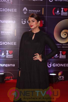 Celebs On Red Carpet Of GIMA Awards Event Stills Hindi Gallery