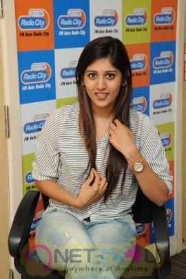 Chandini Chowdary Stills At Radio City Fm Station