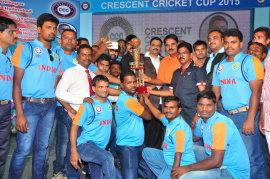 cricent cricket cup trophy launch photo gallery