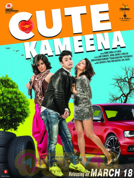 Cute Kameena Official Movie Release Date Poster Hindi Gallery