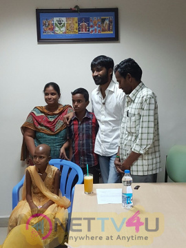 Dhanush Fulfils The Last Wish Of 12 Year Girl Kotiswari Diagnosed With Blood Cancer Tamil Gallery