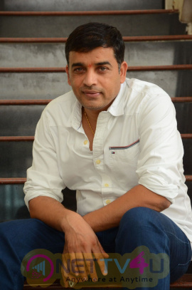Dil Raju Interview Attractive Photo Stills