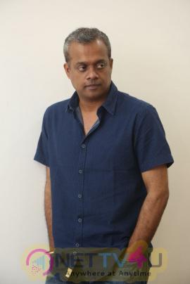 Director Gautham Menon Good Looking Interview Stills