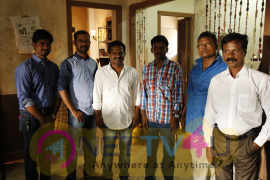 Director Ponram Called The First Shot For Axess Film Factory Production No.2 Photos