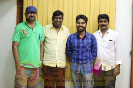 Director Rambala And Actor GV Prakash Untitled Project Still