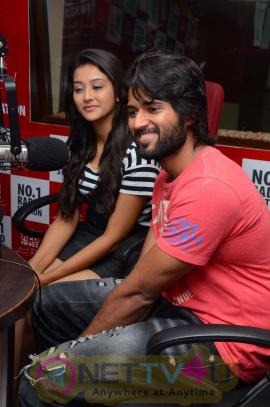Dwaraka Song Launch At 93.5 RED FM Dazzling Stills