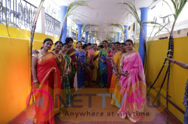 dancers union pongal celebration and dancers union website launch stills
