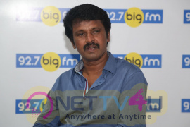 Director Cheran At BIG FM Excellent Photos Tamil Gallery