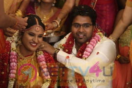 Director K.S.Ravikumar Daughter Marriage Beauteous Photos Tamil Gallery