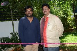 director puri jagannadh birthday press meet stills