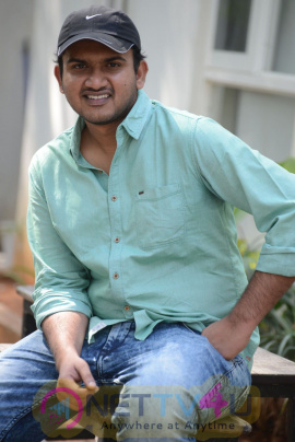 Express Raja Director Merlapaka Gandhi Interview Images