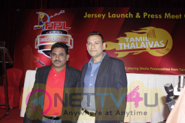 Famous Premier League Cricket Tournament Jersey Launch Function Pics Tamil Gallery