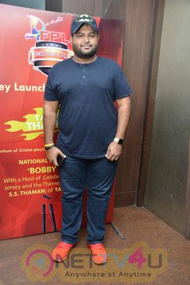 Famous Premier League Cricket Tournament Jersey Launch Function Pics Tamil Gallery