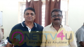 FEFSI Wishes Audiograbber Winning The Election Photos Tamil Gallery