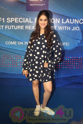 Genelia D'souza Launches Reliance Jio Special Edition Lyf F1 Smartphone Pics Hindi Gallery